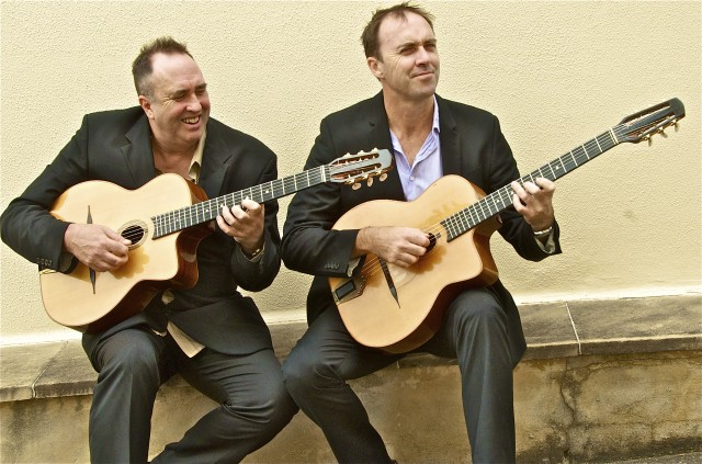 The Date Brothers gypsy Jazz Selmer Guitars